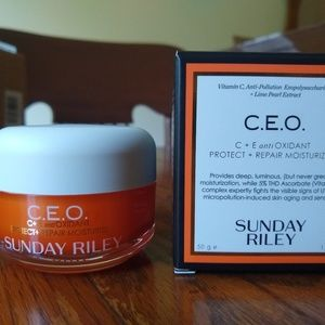 BNIB Sunday Riley CEO Protect + Repair Moisturizer